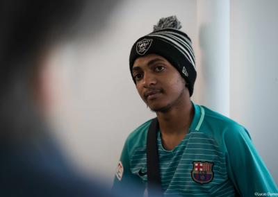 Portrait d'un jeune volontaire
